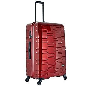 Antler Prism Large Suitcase Burgundy, Size: 78 x 52 x 33