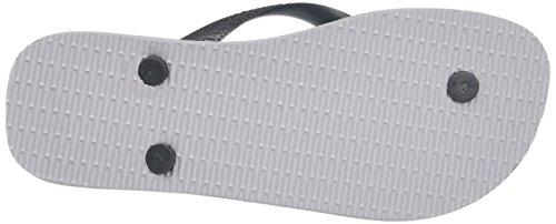 Havaianas Flip Flops Hype Zehentrener für Männer Mehrfarbig (ice grey/Grey 5233)