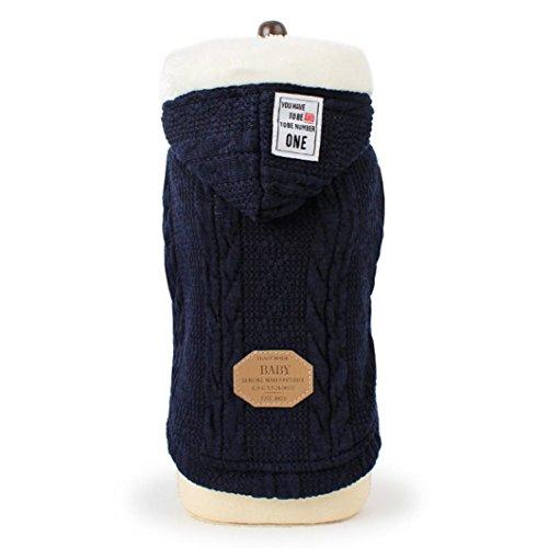 SOMESUN Sweater für Hunde Haustier Hund Katze Welpen Winter Warme Kleidung Jacke Mantel Bekleidung -
