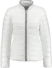 800384216e8254 Gerry Weber Damen Steppjacke Jacke mit Querstepp fein schimmernd, Sportive  Qualität unifarben figurumspielend Stehkragen