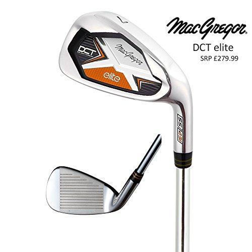 MacGregor Golf DCT Elite Fers 5-SW (7Fers) Fusil, axes en acier pour homme clubs de golf