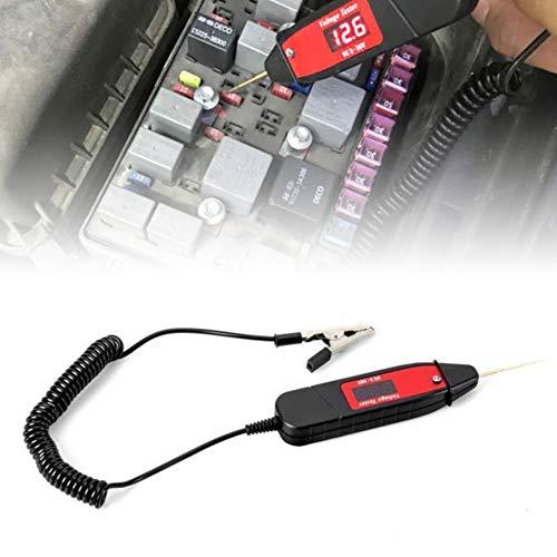 jEZmiSy, Tester, Spannungsprüfer, Digital Multimeter Messgerät, Auto-Digital-LCD-elektrischer Stiftsonden-Detektor mit LED-Licht Multimeter Berührungslose Spannungsdetektor