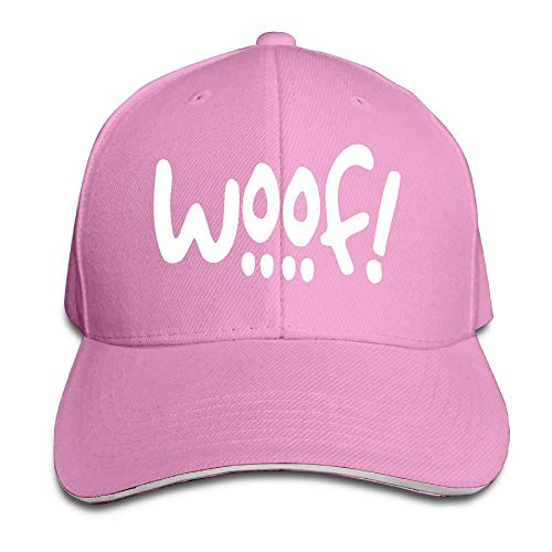 KKAIYA WOOF! Dog Themed Adjustable Baseball Cap (Cap Dog Ear)