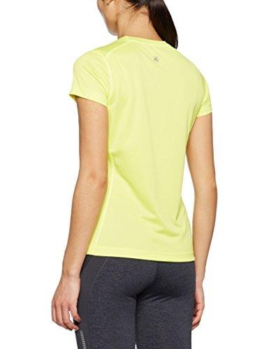 Jako Damen Run T-Shirt Neongelb