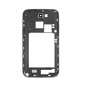Gehäuserahmen Platte Housing Frame Plate Ersatzteil für Samsung Galaxy Note 2 N7100 N7108 - Schwarz