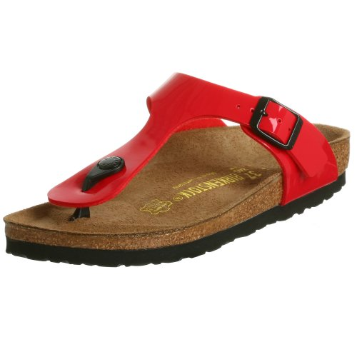 Birkenstock Gizeh Unisex Leather Sandals Strappy Leather Thong Sandal