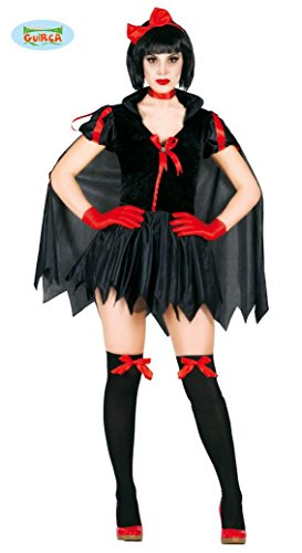 DER NACHT - Größe 38-40 (M), Herrscherin Königin Teuflisch Satan Luzifer Teufel Angel Dark Dunkelheit (Teufels Königin Kostüme)