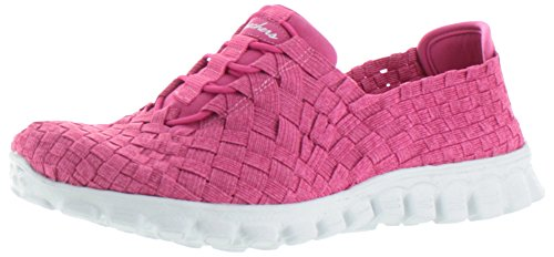 Skechers Sport Easy Flex 2 Pedestal Fashion Sneaker Fuschia