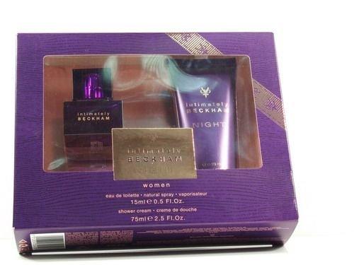 David Beckham Intimately Night Geschenkset (15ml EDT + 75ml Duschgel) - Beckham Intimately Beckham Edt