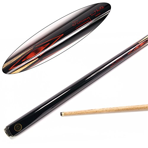 bce-jimmy-white-oculus-2-piece-matching-ash-pool-snooker-cue-95mm-tip