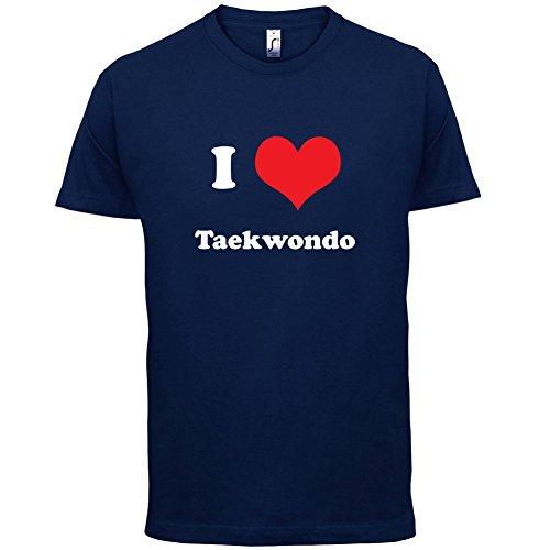 I Love Taekwondo - Herren T-Shirt - 13 Farben Navy