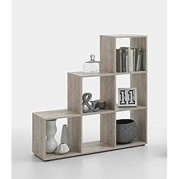 248 001 raumteiler regal w rfelregal mega 1 in sandeiche dekor von fmd k che haushalt. Black Bedroom Furniture Sets. Home Design Ideas