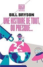 Une histoire de tout, ou presque... de Bill Bryson