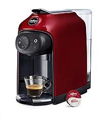 Idea Regalo - Lavazza a Modo Mio Idola Macchina caffè, Touch, Red Fire