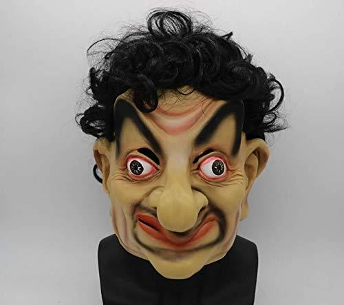 Mr. Bean Maske - Halloween-Kostüm partys, Karneval, Weihnachten, Ostern,helm ()