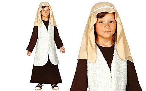 St. Josephs Baby Kostüm 3-4 Jahre Shepherd Krippenspiel