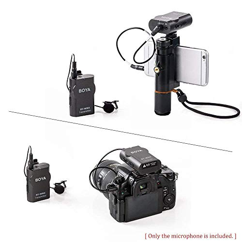 Boya BY-WM4 Microphone sans fil Lavalier avec écran en temps réel avec étui rigide pour appareil photo reflex numérique Canon Nikon Sony Cam... 6