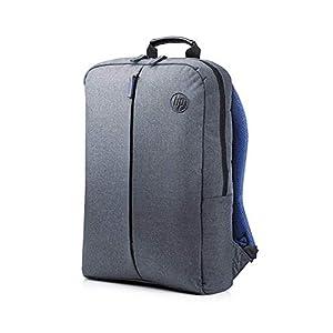 HP Value Backpack 15.6 – Mochila para portátiles de hasta 15.6″, gris y azul