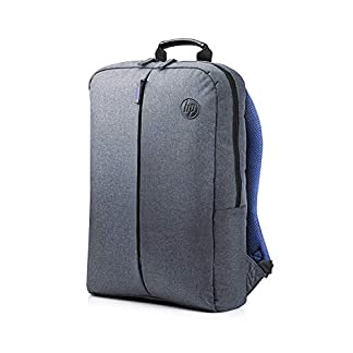 HP Value Backpack 15.6 – Mochila para portátiles de hasta 15.6″, gris y azul