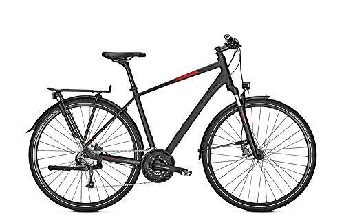 RALEIGH Rushhour 3.0 Freilauf Herren Trekkingrad Fahrrad magicblack matt RH 55 cm / 28 Zoll