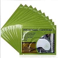 Preisvergleich für Crystal Collagen Augenmaske Frauen Augenlid Patches Anti-Falten-Augenmaske Entfernen Black Circle Augenpflege...