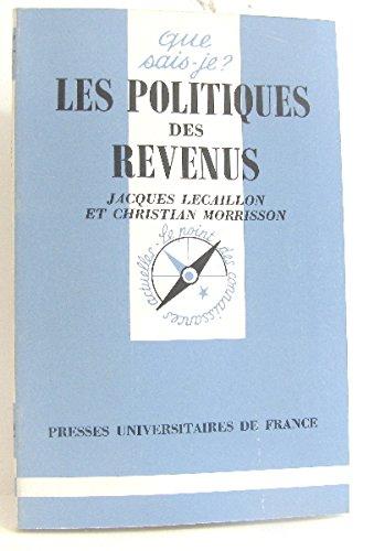 Les politiques des revenus par Christian Morrisson, Jacques Lecaillon
