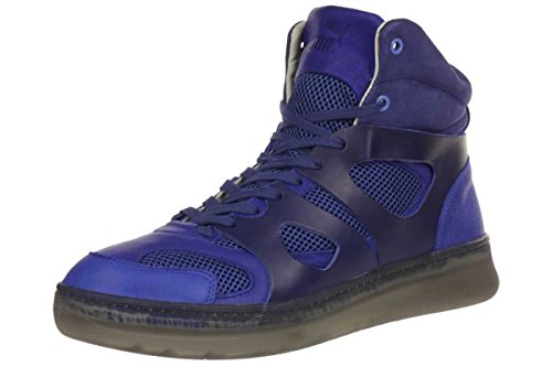 Puma MCQ Move Mid by Alexander McQueen Mens Sneaker Blue