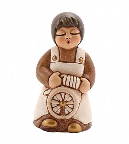 THUN Presepe Classico Donna con Arcolaio, Ceramica, Variopinto
