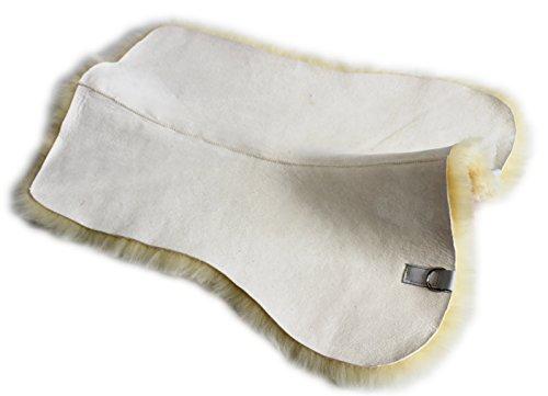 Echt Lammfell Unterlage, Sattelunterlage für Ihre Schabracke, Satteldecke oder Sattelpad.