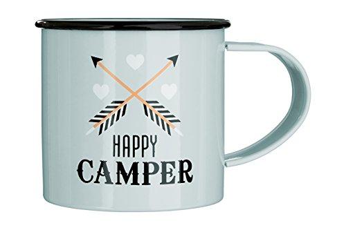 Premier Housewares Stellar Storage Kanister, rund - Camper Becher Happy