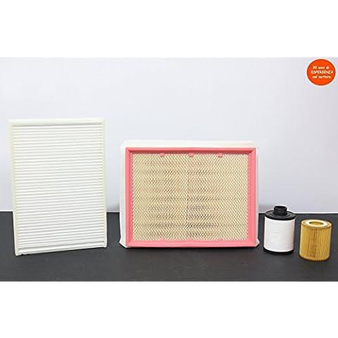 Kit Filtri Tagliando OPEL ASTRA H 1.9 CDTI 88 KW,