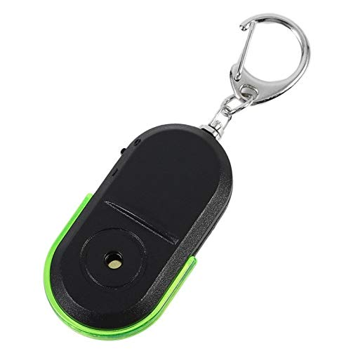 Portable Taille Vieux Personnes Anti-Perdu Alarme Clé Finder Sans Fil Utile Sifflet Son LED Lumière Locator Finder Porte-clés