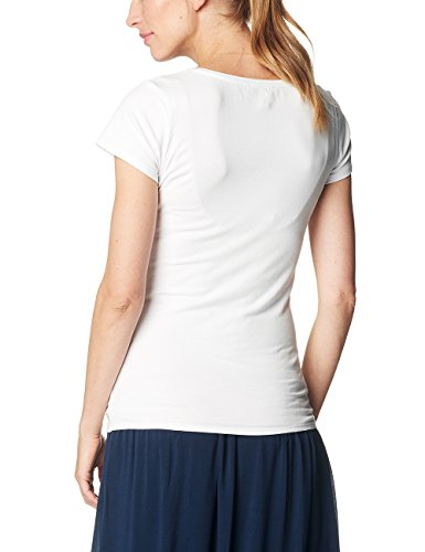 ESPRIT Maternity Damen Umstands-T-Shirt Mehrfarbig (White 100)