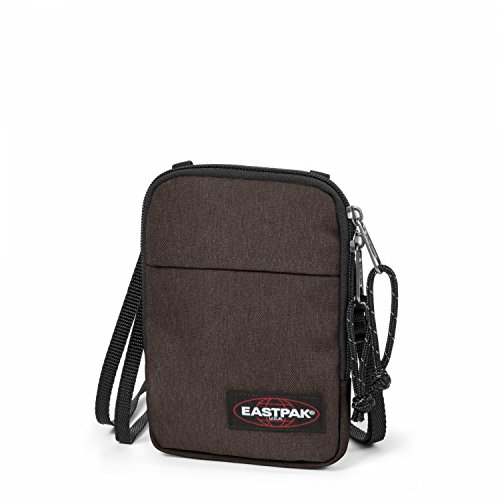 Eastpak Buddy Borsa a Tracolla, 0.5 Litri, Blu (Double Denim) Marrone (Crafty Brown)