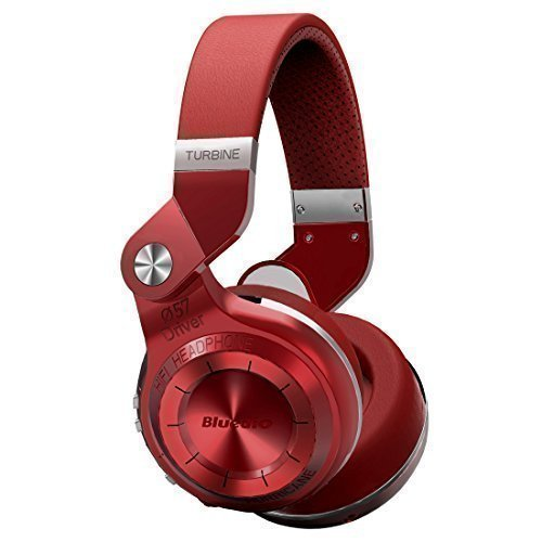 Bluedio T2S (Turbine 2 Shooting Brake) stereo headphones wireless headphones auricolari cuffie Bluetooth 4.1 headset Hurrican Series over the Ear headphones Gift Package(Rosso)