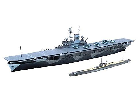 1/700 Wasserleitung der United States Navy Flugzeugtraeger WASP (WASP) & amp; die japanische Marine U-Boot Italien 19
