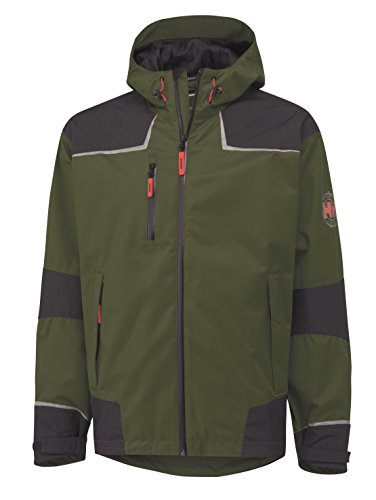 Helly Hansen Funktionsjacke mit wasserdichtem und atmungsaktiven Helly Tech Chelsea Shell Jacket Olive Night/Charcoal