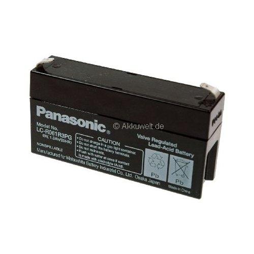 Panasonic Batterie au plomb (AGM) pour Datex ohmeda Moniteur pour oxymètre de pouls/OSP 200/Satellite Trans Batterie Médical