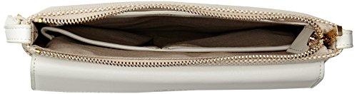 ModaluErin W - Borsa a tracolla Donna Bianco (White (White Cream))