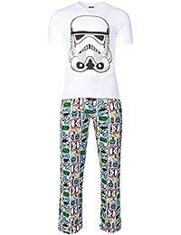 Herren Star Wars Storm Trooper Schlafanzug aus Baumwolle