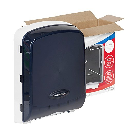 marathon-combo-folded-towel-dispenser-color-smoke-holds-c-fold-s-fold-and-m-fold-by-sams-club