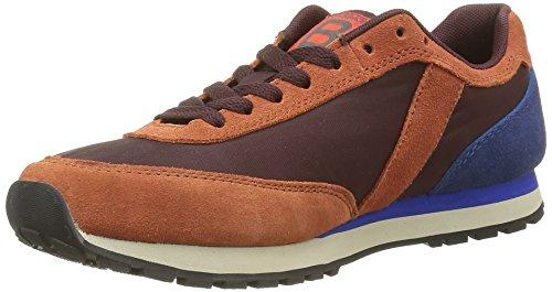 BensimonRunning - Sneaker Donna , Rosso (Rouge(403 Bordeaux)), 38