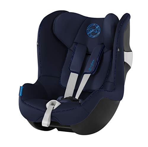 Cybex Gold Kinder-Autositz Sirona M2 i-Size, Für Kinder ab 45 cm bis 105 cm (max. 19kg), Indigo Blue