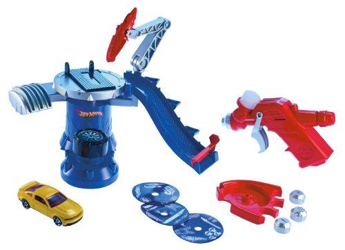 Mattel W3855 Hot Wheels - Estación de personalización y accesorios