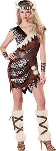 chsene Karnevalskomplettkostüm Wikinger Lady, Braun, Größe S (Wikinger Lady Kostüm)