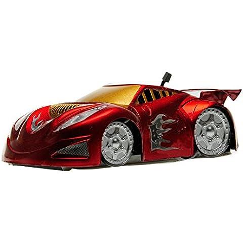 WayIn® Mini RC auto con parete di arrampicata funzione per bambini (Rosso)