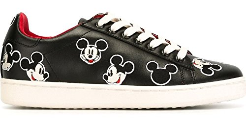 MOA MASTER OF ARTS MDJ 37 ACTION LEATHER BLACK SNEAKER NERO TOPOLINO