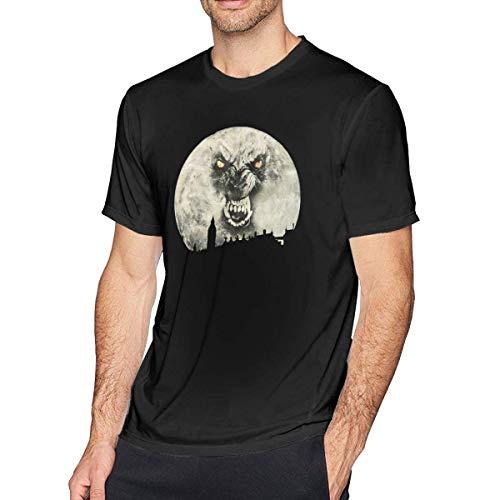 Werewolf in London Mens T-Shirt Black