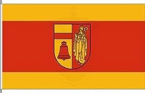 Königsbanner Hochformatflagge Kreis Coesfeld - 150 x 400cm - Flagge und Fahne