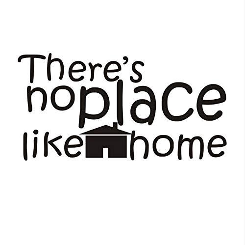 Namefeng Es gibt keinen Ort wie Hause wandaufkleber für Wohnzimmer wanddekor kleines Haus Muster tapete dekorative Kindergarten wohnkultur 83x43 cm